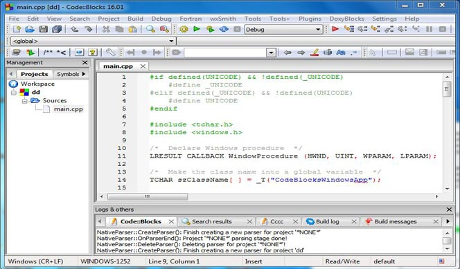 CodeBlocks para programadores en C++