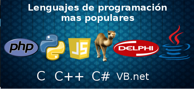 Lenguajes de programación mas utilizados