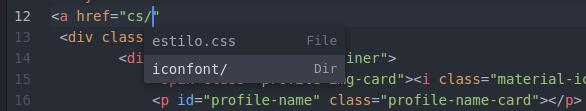 Auto completado de ruta de archivos en Atom