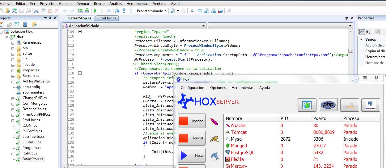 Crear mi propio xampp en C#