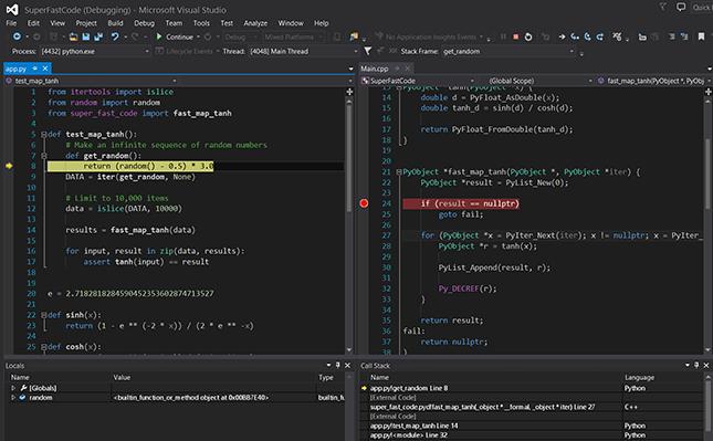 Microsoft visual studio para programar en .NET