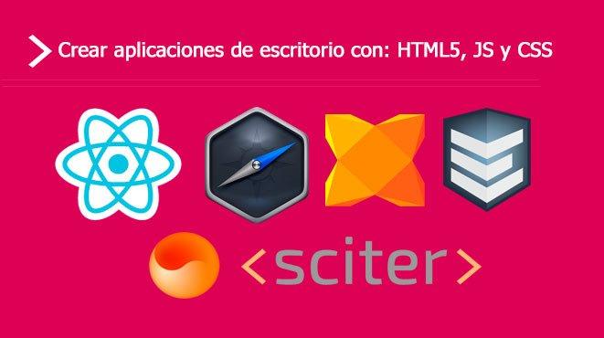 Desarrollar aplicaciones de escritorio con html5 js css