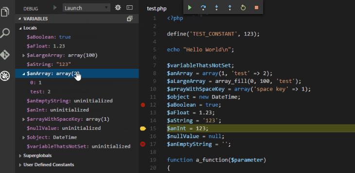 extesion-php-xdebug-para-visual-studio-code