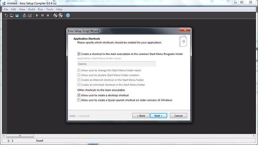 Como crear un instalador o setup con INNO SETUP paso 4