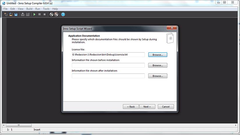 Como crear un instalador o setup con INNO SETUP paso 5