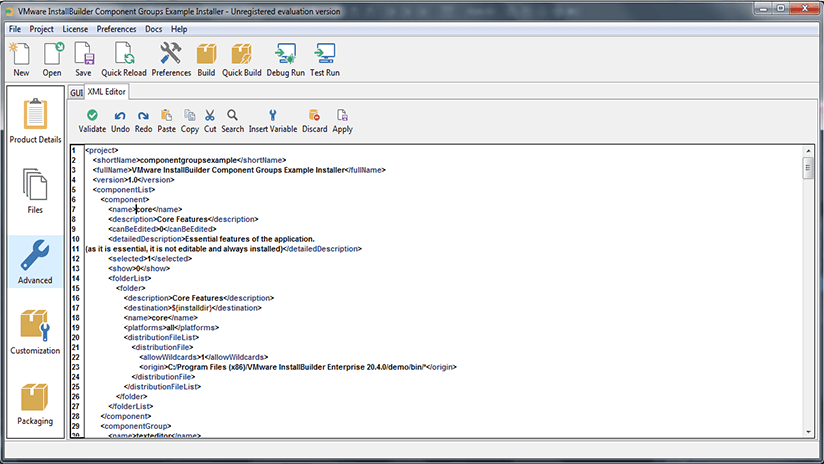 Como crear un instalador o setup con VMware InstallBuilder
